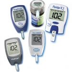 Blood glucose meters in comparison