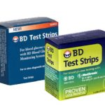 BD glucose test strips are accurate and fast