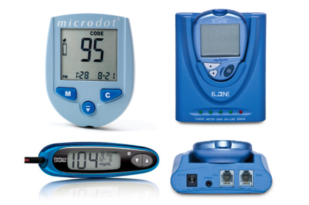 Free Blood Glucose Meter >> Compare Glucose Meters | Diabetes Healthy Solutions