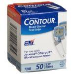 Ascensia contour glucose meter