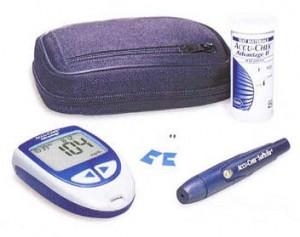accucheck glucose meters