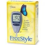 What are freestyle glucose meters used for?