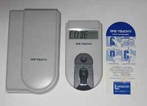 one touch diabetic supplies