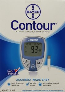 Amazon Contour Blood Glucose monitoring system